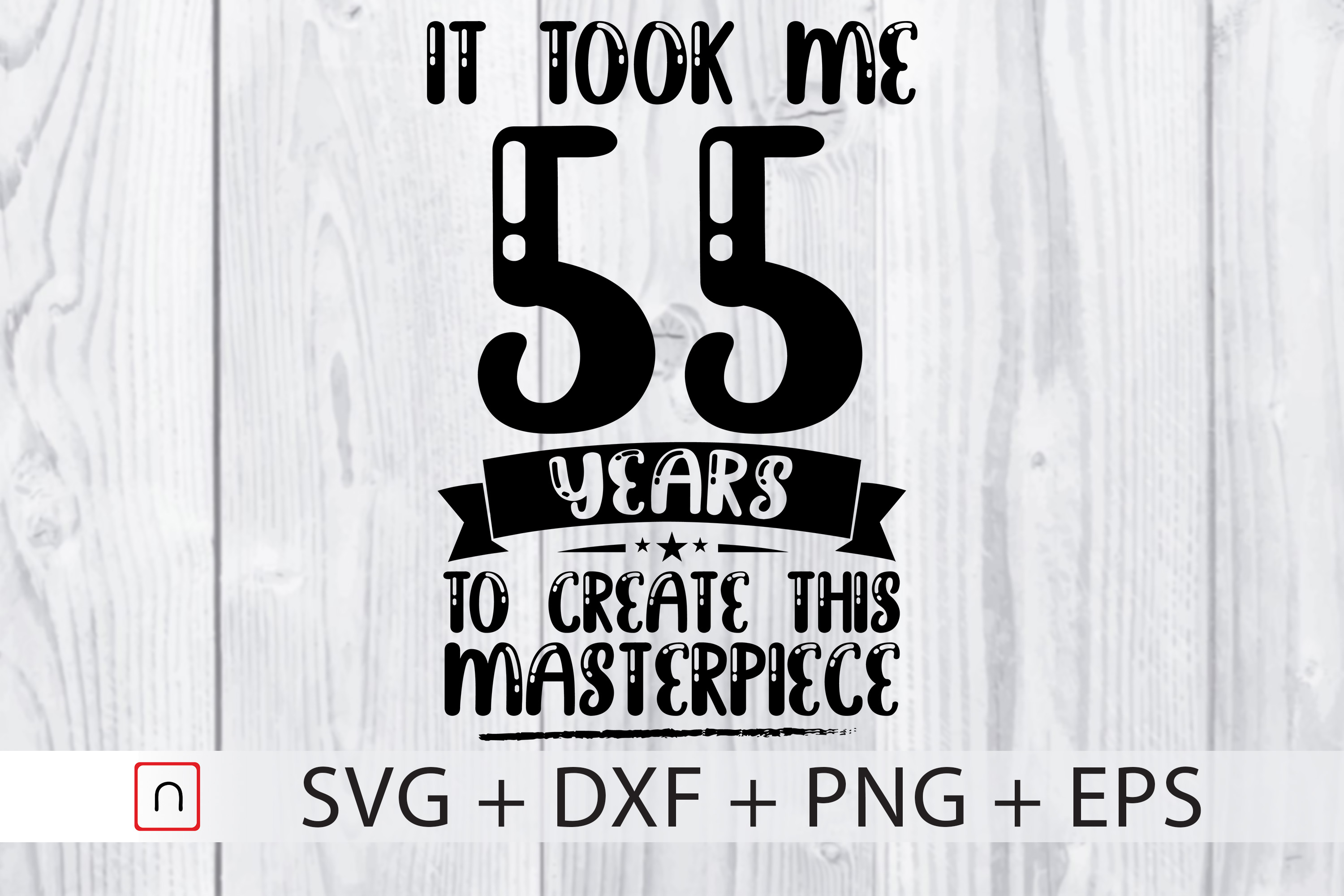 Birthday 55 Years Old Graphic By Novalia Creative Fabrica