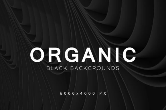 Download Free Black Organic Backgrounds 2 Graphic By Artistmef Creative Fabrica for Cricut Explore, Silhouette and other cutting machines.