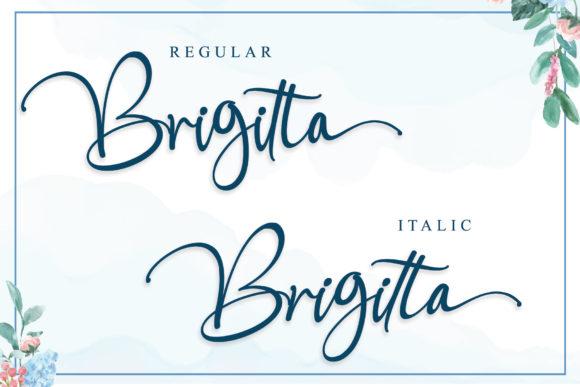 Print on Demand: Boomolla Script & Handwritten Font By Stefani Letter - Image 9