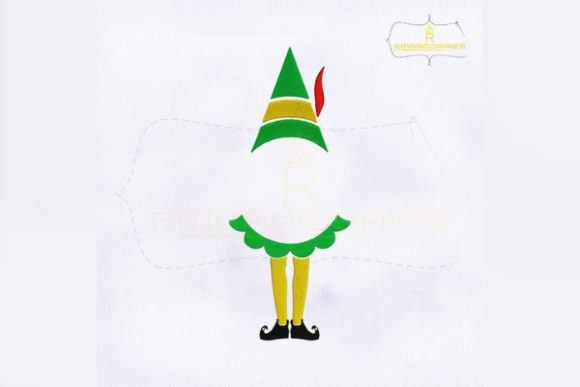 Download Free Christmas Elf Legs Monogram Creative Fabrica for Cricut Explore, Silhouette and other cutting machines.