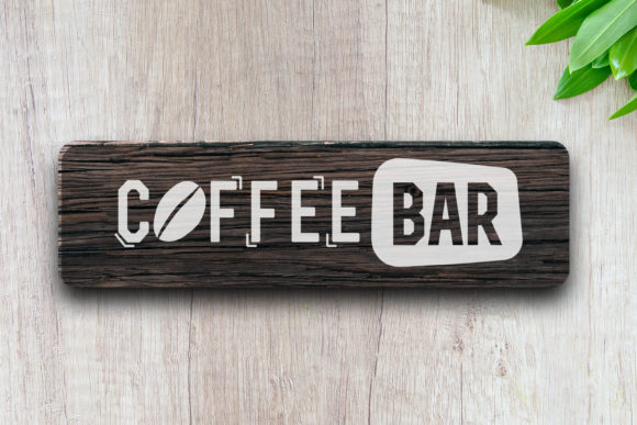 Download Coffee Bar Label