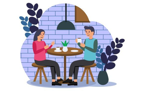 Coffee Shop Vector Flat Graphic Illustrations By Redvy Creative