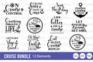 Download Free Cruise Family Trip Bundle Graphic By Cutfilesgallery Creative for Cricut Explore, Silhouette and other cutting machines.