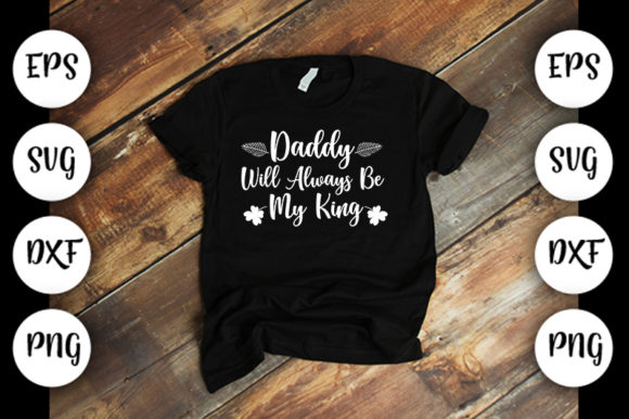 Download Free Daddy Will Always Be My Graphic By Design Store Creative Fabrica for Cricut Explore, Silhouette and other cutting machines.
