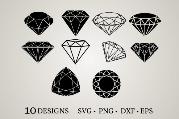 Diamond Bundle Graphic Print Templates By Euphoria Design