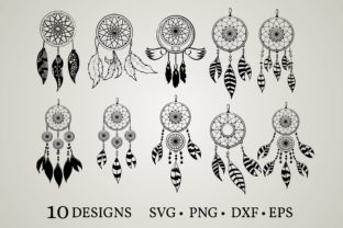 Download Free Dream Catcher Graphic By Euphoria Design Creative Fabrica for Cricut Explore, Silhouette and other cutting machines.
