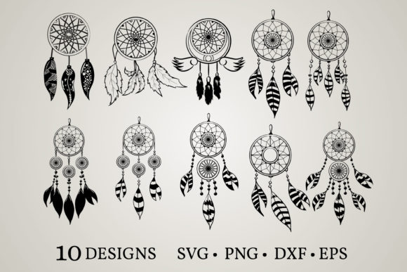 Dream Catcher Graphic Print Templates By Euphoria Design