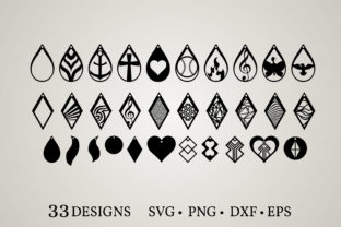 Earring Bundle Graphic Crafts By Euphoria Design
