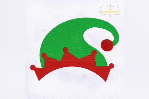 Download Free Elf Santa Hat Christmas Creative Fabrica for Cricut Explore, Silhouette and other cutting machines.