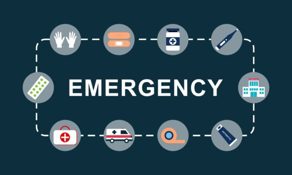 Emergency Word Concept Background Logo Graphic Logos By 2qnah