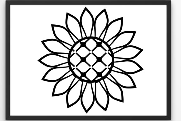 Download Free Flowers Sunflower Graphic By Tanja Dianova Creative Fabrica for Cricut Explore, Silhouette and other cutting machines.