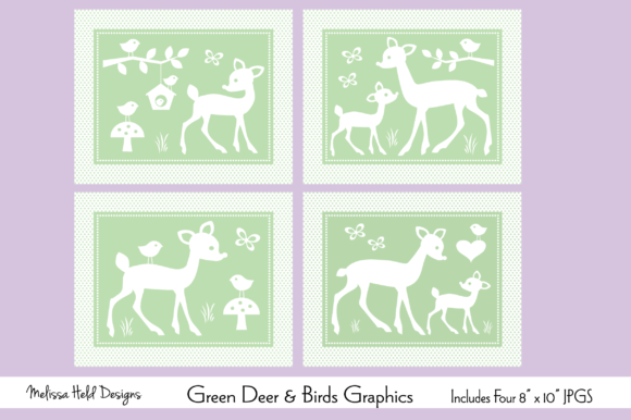 Download Free Mod Flowers Clipart Graphic By Melissa Held Designs Creative for Cricut Explore, Silhouette and other cutting machines.