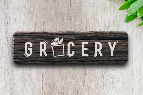 Download Grocery Label