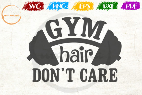 Download Gym Hair Don't Care