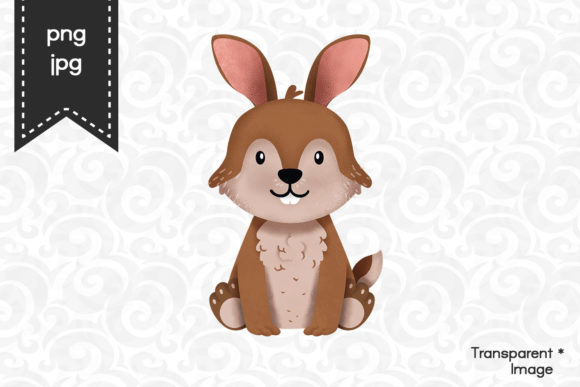 Download Free Hare Bunny Clipart Graphic By Accaliadigital Creative Fabrica for Cricut Explore, Silhouette and other cutting machines.