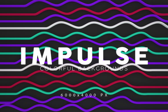 Print on Demand: Impulse Backgrounds Graphic Backgrounds By ArtistMef