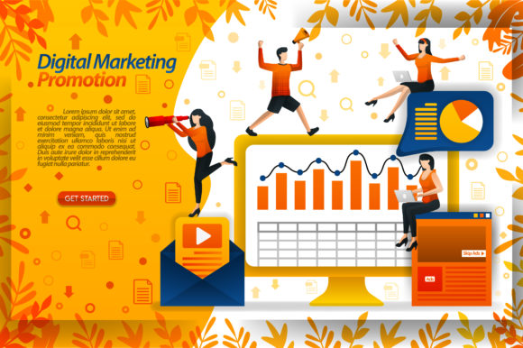 Print on Demand: Increase Sales with Marketing Videos Graphic Graphic Templates By setiawanarief111