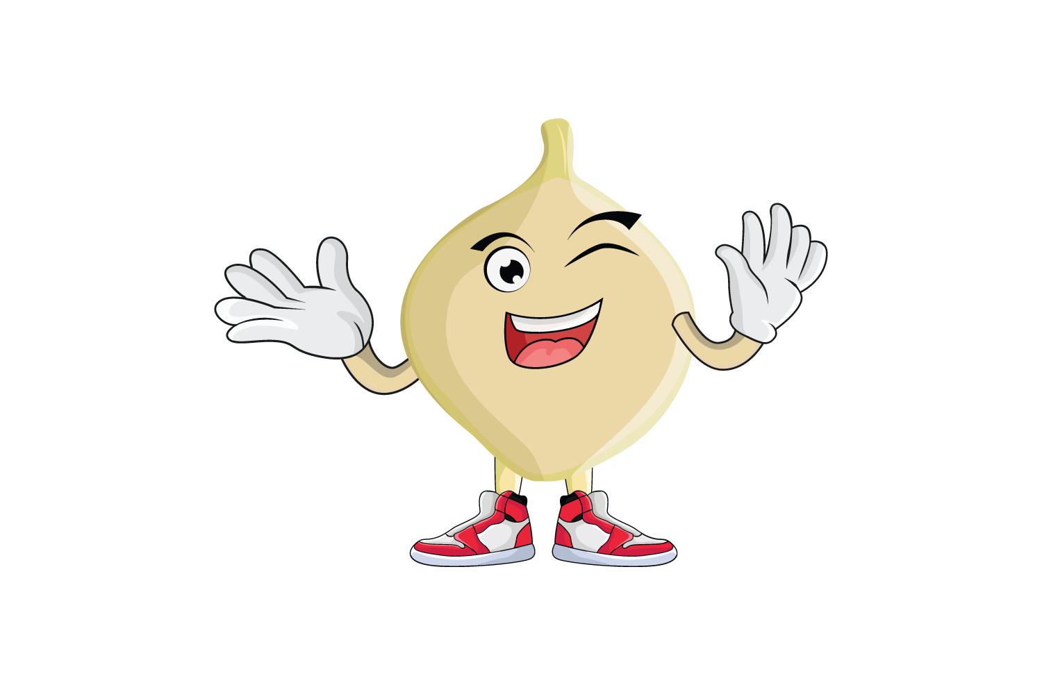 Download Free Jicama Tuber Cartoon Character Design Graphic By for Cricut Explore, Silhouette and other cutting machines.