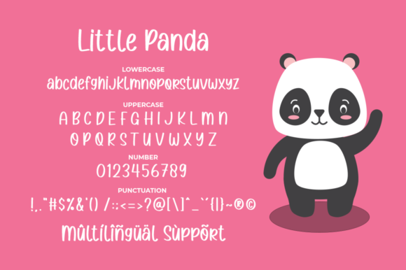 Print on Demand: Little Panda Sans Serif Font By Suby Store - Image 4
