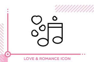 Download Free Love And Romance Musical Note Graphic By Freddyadho Creative SVG Cut Files