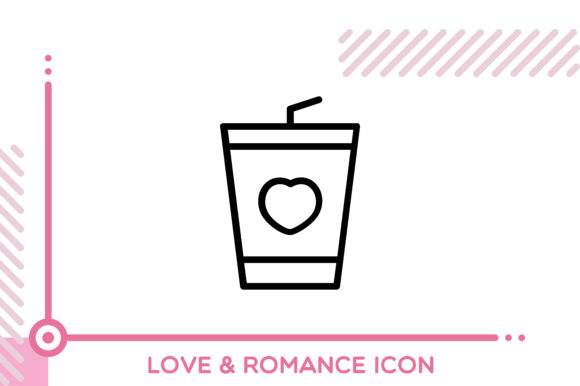 Download Free Love And Romance Drink Graphic By Freddyadho Creative Fabrica SVG Cut Files