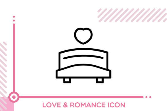 Download Free Love And Romance Heart Lock Graphic By Freddyadho Creative Fabrica for Cricut Explore, Silhouette and other cutting machines.