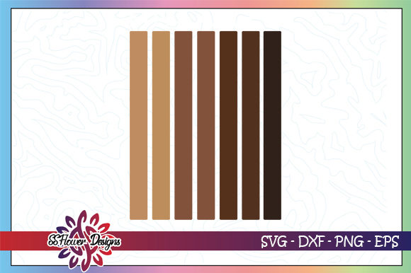 Download Free Melanin Color Range Graphic By Ssflower Creative Fabrica for Cricut Explore, Silhouette and other cutting machines.