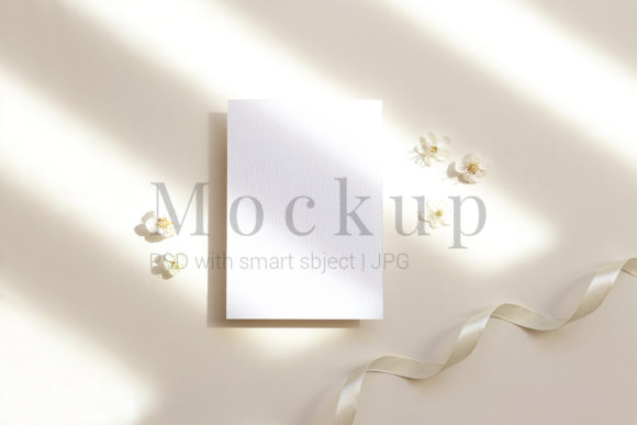 Download Free Mockup Template Photography Mockup Card Graphic By Pawmockup for Cricut Explore, Silhouette and other cutting machines.