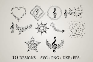 Music Note Graphic Crafts By Euphoria Design