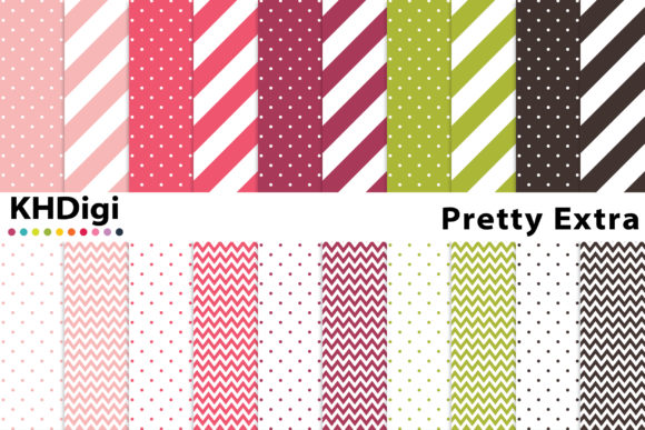 Download Free Ella Extra Digital Paper Graphic By Khdigi Creative Fabrica for Cricut Explore, Silhouette and other cutting machines.