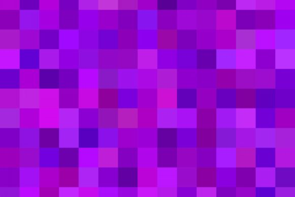 Purple Square Mosaic Background Graphic Backgrounds By davidzydd - Image 1
