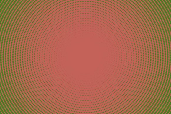 Radial Halftone Circle Pattern Graphic Backgrounds By davidzydd