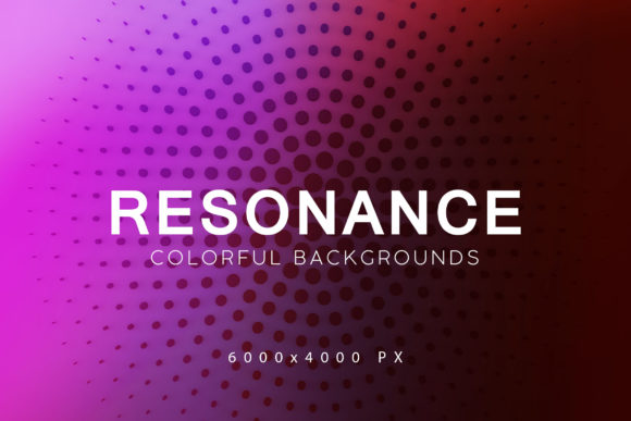 Print on Demand: Resonance Tech Backgrounds Graphic Backgrounds By ArtistMef