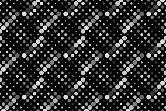 Seamless Grey Dot Pattern Graphic Patterns By davidzydd