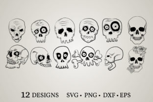 Skull Clipart Bundle Graphic Crafts By Euphoria Design