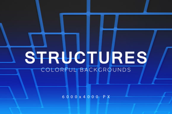 Print on Demand: Structures 3D Backgrounds Graphic Backgrounds By ArtistMef