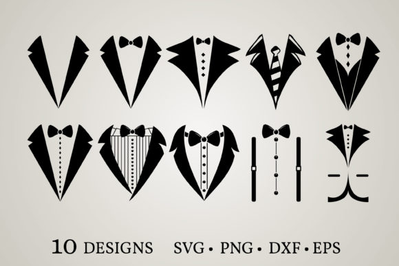 Suit Bundle Graphic Print Templates By Euphoria Design