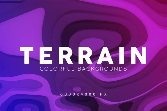 Print on Demand: Terrain 3D Backgrounds Graphic Backgrounds By ArtistMef