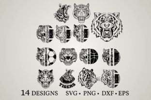 Tiger Bundle Graphic Crafts By Euphoria Design