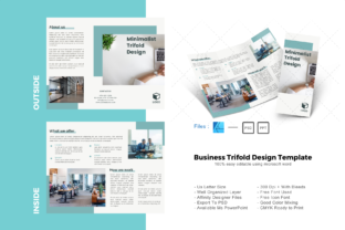 Download Free Tosca Trifold Brochure Design Template Graphic By Rivatxfz for Cricut Explore, Silhouette and other cutting machines.