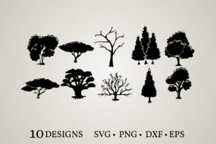 Tree Family Bundle Graphic Crafts By Euphoria Design