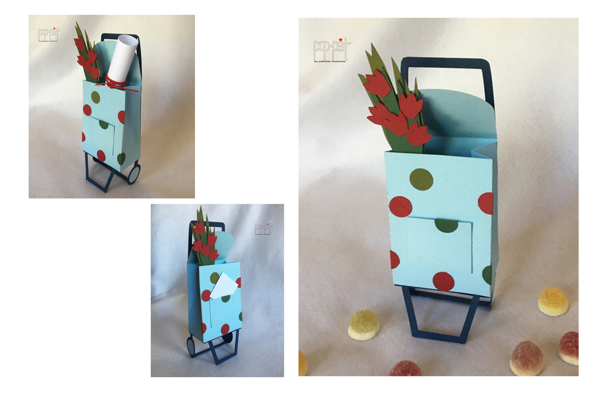 Download Free Trolley With Tulips Graphic By Patrizia Moscone Creative Fabrica for Cricut Explore, Silhouette and other cutting machines.
