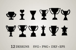 Trophy Bundle Graphic Crafts By Euphoria Design