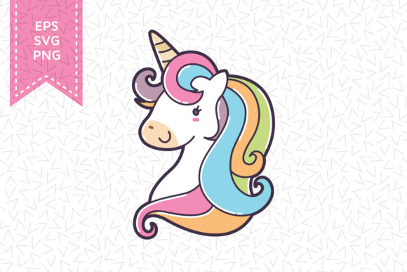 Download Free Unicorn Silhouette File Graphic By Accaliadigital Creative Fabrica for Cricut Explore, Silhouette and other cutting machines.