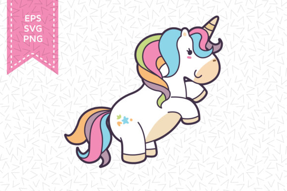 Print on Demand: Unicorn Silhouette File Graphic Crafts By accaliadigital