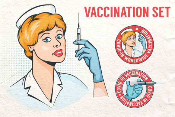 Vaccination Logos and Illustrations Graphic Illustrations By Agor2012