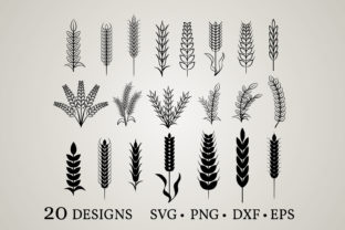 Wheat Bundle Graphic Crafts By Euphoria Design