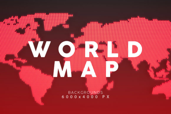 Print on Demand: World Map Backgrounds Graphic Backgrounds By ArtistMef