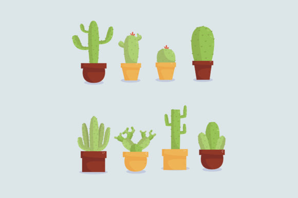 Download Free Cactus Hand Drawn Pack Graphic By Aprlmp276 Creative Fabrica for Cricut Explore, Silhouette and other cutting machines.