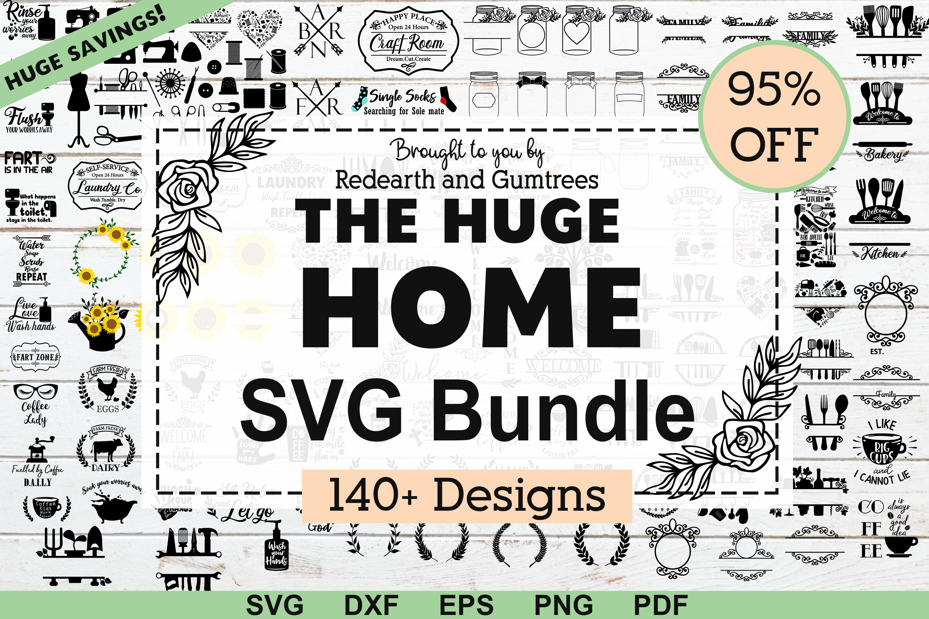 The Huge Home Bundle Graphic By Redearth And Gumtrees Creative